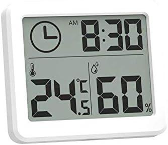 flouris Digital-Hygrometer-Innenthermometer, Feuchtigkeitsmesser-Indikator-Raum-Thermometer für Innenministerium-Gewächshaus