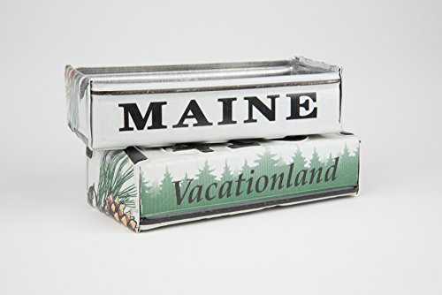Maine license plate box - Maine Father's Day gift - Maine Graduation gift - Maine Souvenir - Maine gift (Graduation License Plates)