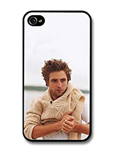 Robert Pattinson Jumper Posing case for iPhone 4 4S