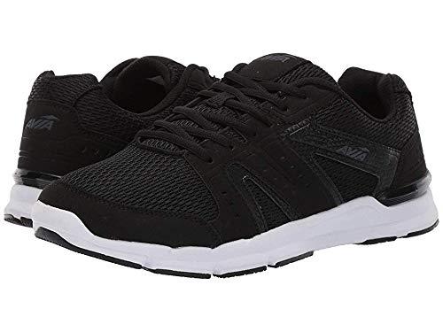 Avia Men's Avi-Edge II Sneaker, Black/Iron Grey, 8 Medium US