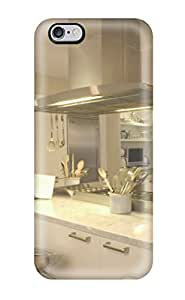 Sarah deas's Shop Fashion Tpu Case For Iphone 6 Plus- Modern Kitchen With Two Kitchen Islands Defender Case Cover 3947032K26061985