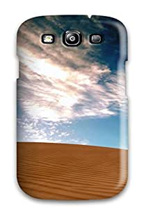 High Grade Heimie Flexible Tpu Case For Galaxy S3 - Desolate Tract Sand Dune Blue Clouds Nature Other