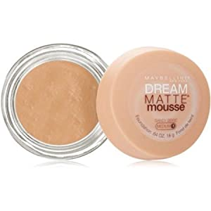 Maybelline Dream Matte Mousse Foundation, Sandy Beige, 0.64 oz (Pack of 2)