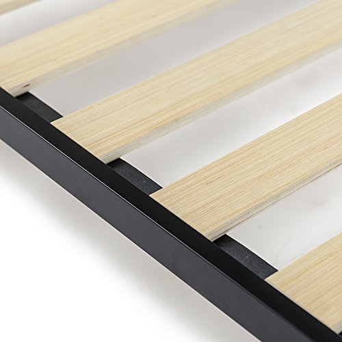 Zinus Deepak Easy Assembly Wood Slat 1.6 Inch Bunkie Board / Bed Slat Replacement, King