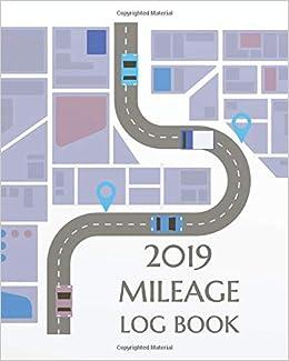 2019 mileage log book mileage book for car mileage keeper mileage