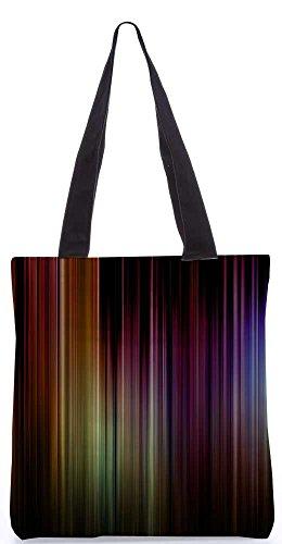"""Snoogg Moody Blues Cobalt Einkaufstasche 13,5 X 15 In """"Shopping-Dienstprogramm Tragetasche Aus Polyester Canvas"""