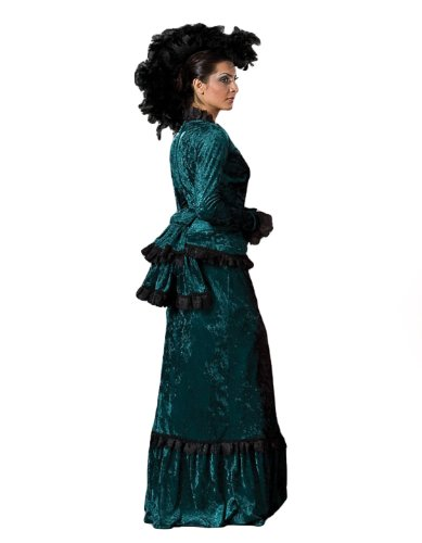 Victorian Costumes: Dresses, Saloon Girls, Southern Belle, Witch Plus Size Victorian Theatrical Costume $279.99 AT vintagedancer.com