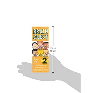 Brain Quest Grade 2: 1,000 Questions and Answers to Challenge the Mind (Brain Quest Decks)