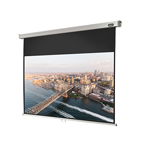 celexon 81'' Manual Professional Plus pull down projection screen, 71 x 40 inches viewing area, 16:9 format, Wall or ceiling mounting, Gain factor of 1.2 by Celexon