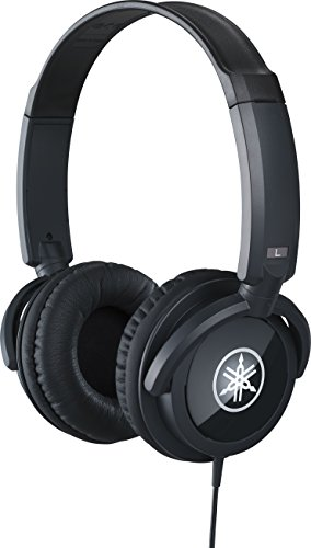 Yamaha HPH 100B Dynamic Closed Back Headphones