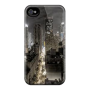 Brand New 4/4s Defender Case For Iphone (city Lights) by icecream design