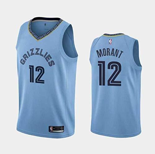 VS LTE Men' Ja_Morant_Memphis_Light_Blue_Jerseys (S)