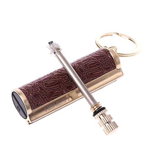 n Permanent Match Striker Lighter Keyring Useful ()