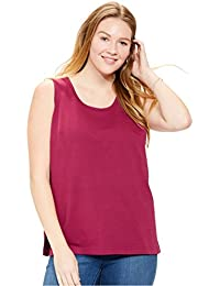 270f529eb8127 Amazon.com  Woman Within - Tanks   Camis   Tops   Tees  Clothing ...