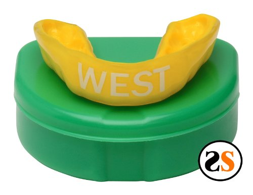 West High School Custom Mouthguard by SportingSmiles
