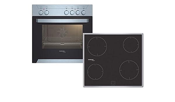Constructa CX 31025 (CH 10352 + CM 31052) Con placa de inducción Horno eléctrico sets de electrodoméstico de cocina - Sets de electrodomésticos de cocina (Con placa ...
