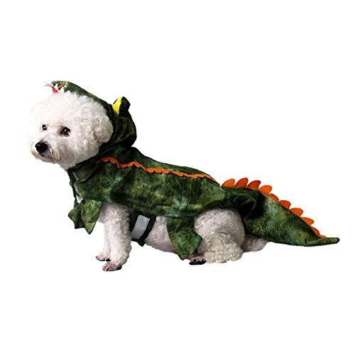 Yinrunx Pet Alligator Performance Costume for Dogs Puppy Festival Party Cosplay Interesting Costume]()