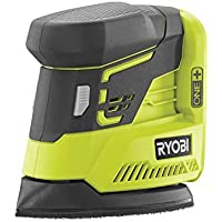 Ryobi Akku-Delta-Vibrationschleifer R18PS-0 GN ohne Akku und Ladegerät, 1 Stück, schwarz/grün, 5133002443