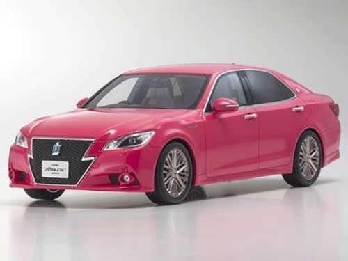 1/18 トヨタ クラウン ハイブリッドアスリート G (ピンク) 「SAMURAIシリーズ」 KSR18001PI