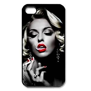 Cool Marilyn Monroe Smoking Protective Hard Back Case Cover for iPhone 6 Plus(5.5 inch)