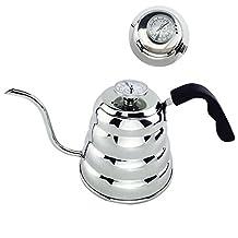 Lemonda 1200ML Stainless Steel Coffee Drip Kettle Tea Pot Coffee Pot with Thermometer