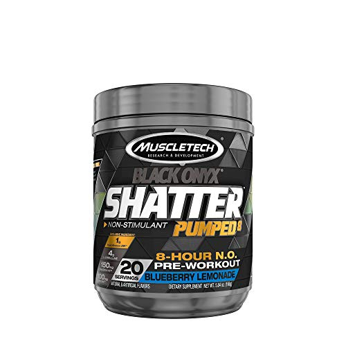 MuscleTech Shatter Pumped 8 Black Onyx - Blueberry Lemonade