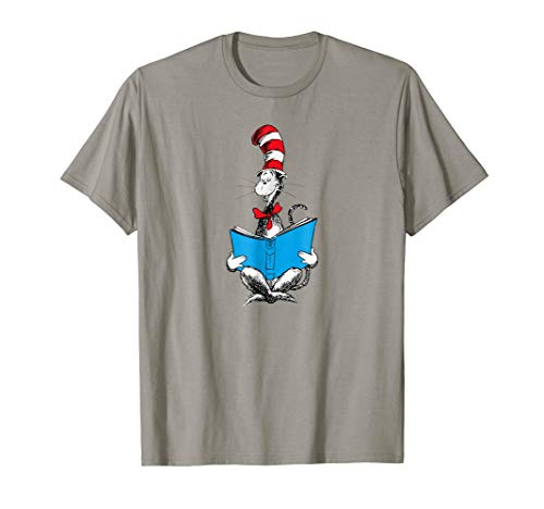 Dr. Seuss Reading Cat