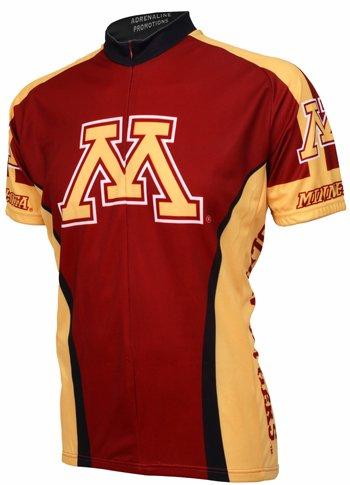 - NCAA Minnesota Cycling Jersey,X-Large