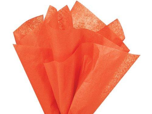 Bulk Bright Orange Tissue Paper 15