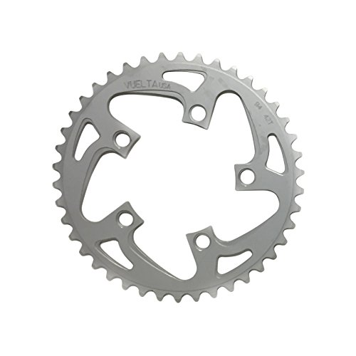 Vuelta SE Flat 94mm/BCD 46T Chain Ring, Silver 94 Mm Alloy Ring