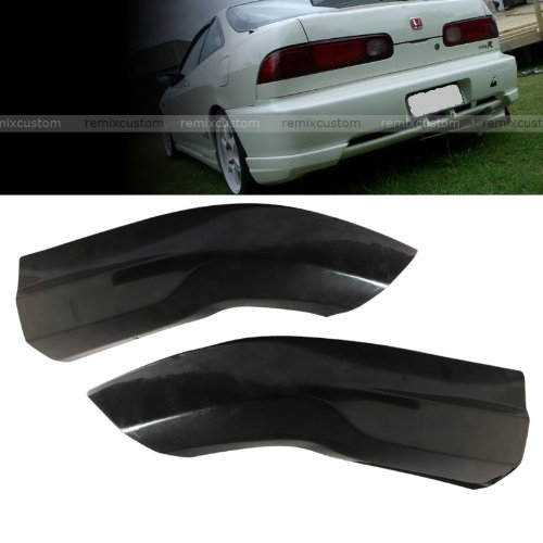 Remix Custom Rear Apron For 1998 1999 2000 2001 Acura Integra 2DR Hatchback Type R Style PU Rear Body Bumper Caps Kit