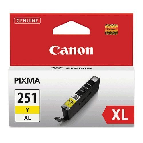 Canon 6451B001 , High-Yield Ink, 11 mL, Yellow