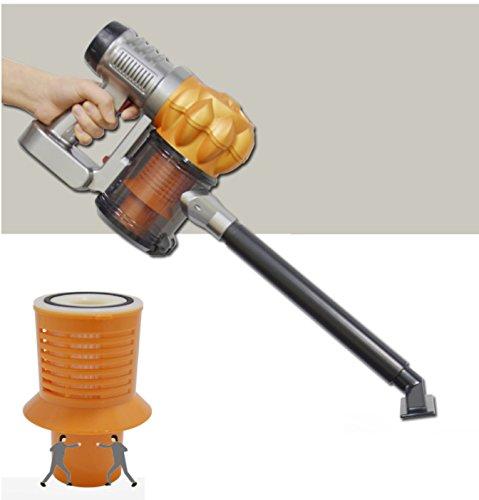 i-beam Super Cyclone Vehicle Vacuum Cleaner 12V Portable Handheld Car Cleaning Kit Orange