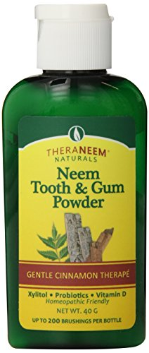 - TheraNeem Toothpowder, Cinnamon, 2 Ounce