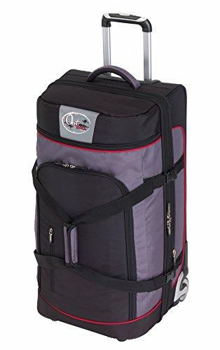 CheckIn Outbag Sports borsone di viaggio a 2 ruote L 72 cm schwarz/rot