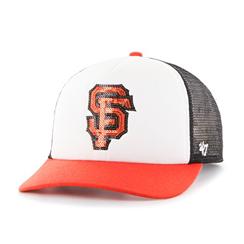 '47 MLB San Francisco Giants Glimmer Captain CF Hat, One Size, Black (San Francisco Giants Gear)