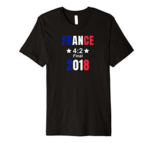 World Winners Cup (France Soccer Shirt Second Star Finale Winner 2018 4:2)