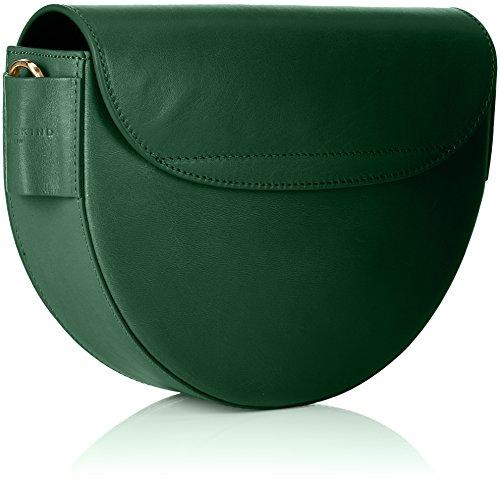 Liebeskind Berlin Mixedbag, Borse a Tracolla Donna, 7x24x18 cm (B x H x T) Verde (Emerald Green)