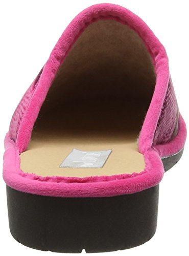 Lotus Nellie, Zapatillas de Estar por Casa para Mujer Pink (Pink Multi)