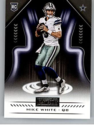 9964a8d3dce 2018 Panini Playbook #112 Mike White Rookie RC Rookie Dallas Cowboys NFL  Football Trading Card