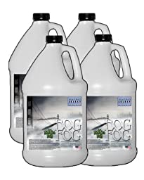 Bog Fog ® - Extreme High Density Fog Juice - HDF Fog Machine Fluid - 4 Gallon Case - Best Rated and Best Seller - Water Based, American Made and Just Plain Awesome Fog