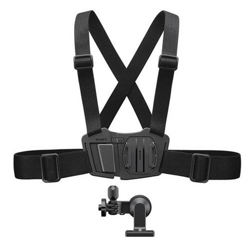 Sony AKACMH1 Chest Mount Harness for Action Cam (Black) by Sony