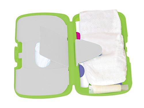 Koo-di bebé esencial Cambio Box (Verde Polka)