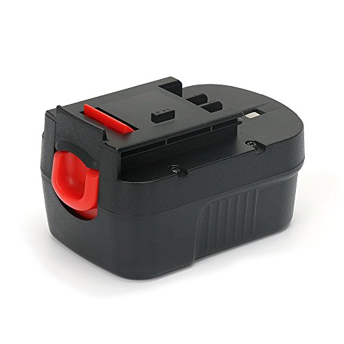 REEXBON 14.4V 2.0Ah HPB14 Battery for Black & Decker FireStorm 499936-34 499936-35 FSB14 FS140BX A14 A1714 BD1444L HPD14K-2 CP14KB HP146F2 CDC140AK HP148F2R Black and Decker 14.4 Volt -