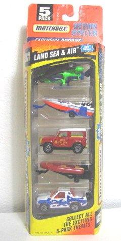 Matchbox Land Sea & Air 5 Pack 1996 Very Rare