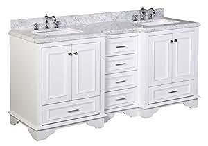 Nantucket Mueble De Ba O Carrara Blanco Incluye