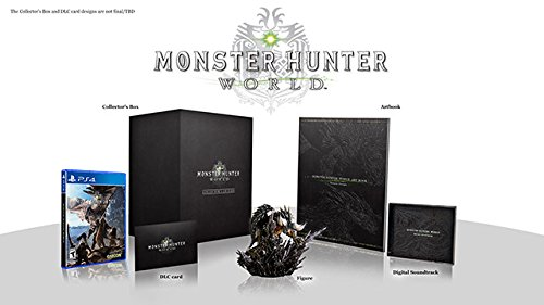 Monster Hunter World Collectors Edition  Ps4