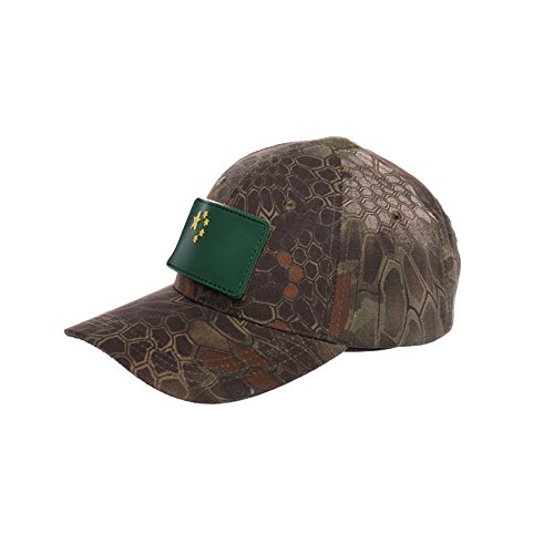 CHASEFREE Bionic Outdoor Hunting Hats Baseball Cap Tactical Hip Hop Adjustable for men women (Green snake)