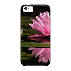 Hot Style HWveR9373ANBTz Protective Case Cover For Iphone5c(nature Beauty Flowers Lily)