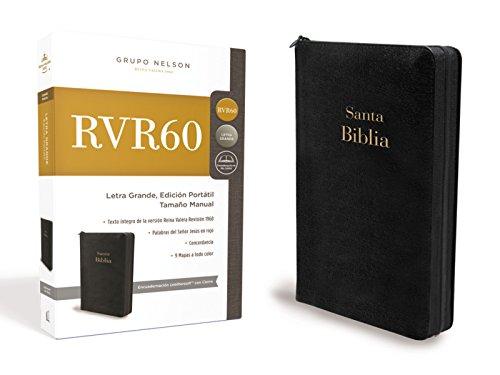 Santa Biblia Rvr1960- Edicion Portatil Con Cremallera